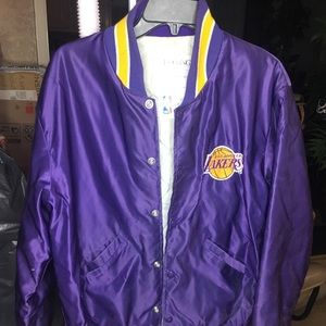 Vintage Delong Los Angeles Lakers satin jacket